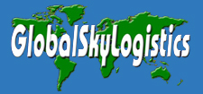 Global Sky Logistics | 866-822-4204 Logo